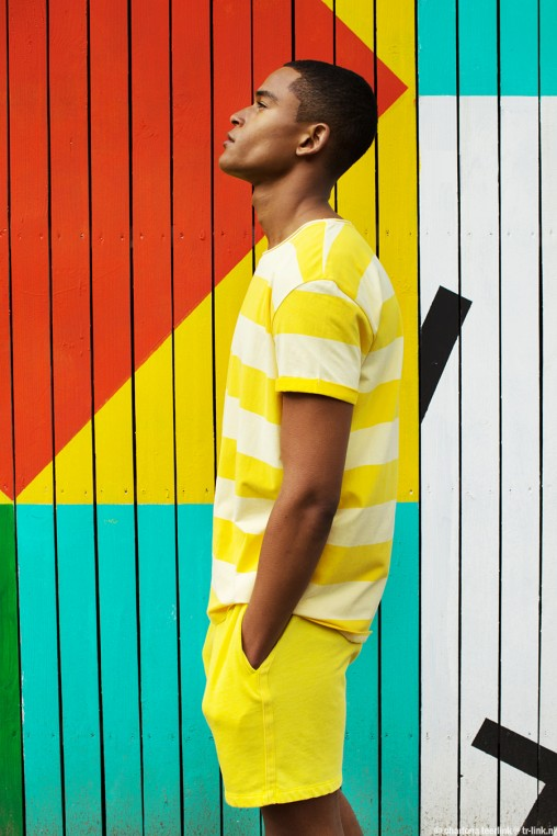 colourful man